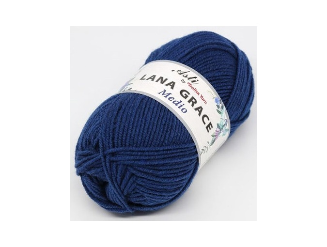 Troitsk Wool Lana Grace Medio, 25% Merino wool, 75% Super soft acrylic 5 Skein Value Pack, 500g фото 7