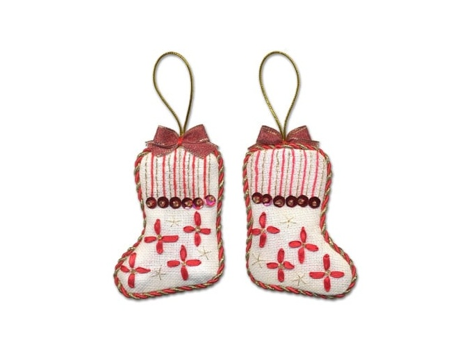 Christmas Decoration. Stocking Embroidery Kit фото 1