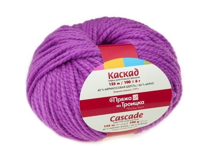 Troitsk Wool Cascade, 40% wool, 60% acrylic 10 Skein Value Pack, 1000g фото 26