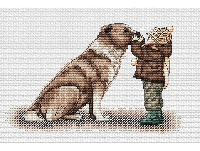 Friends Forever Cross Stitch Pattern фото 1
