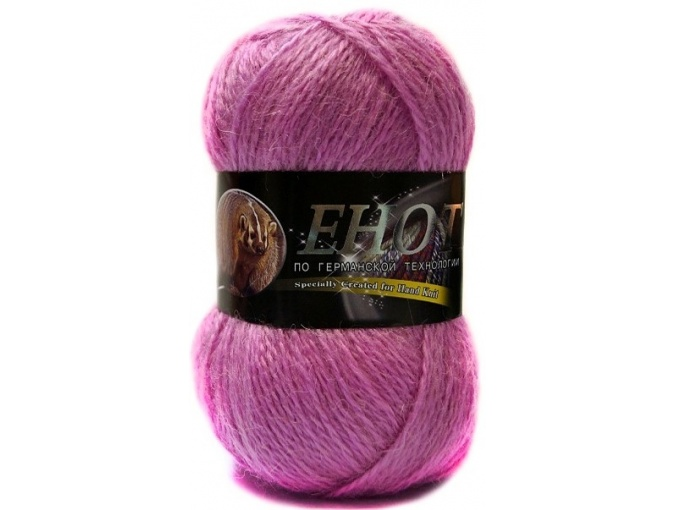 Color City Raccoon 60% Lambswool, 20% Raccoon Wool, 20% Acrylic, 10 Skein Value Pack, 1000g фото 11