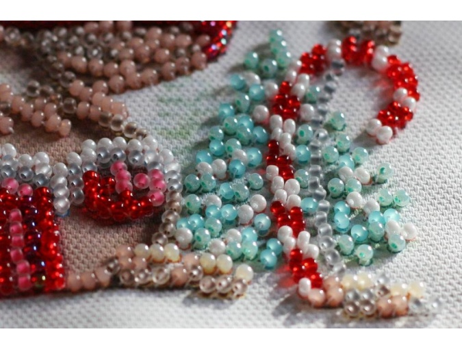 Winter Magic Bead Embroidery Kit фото 4