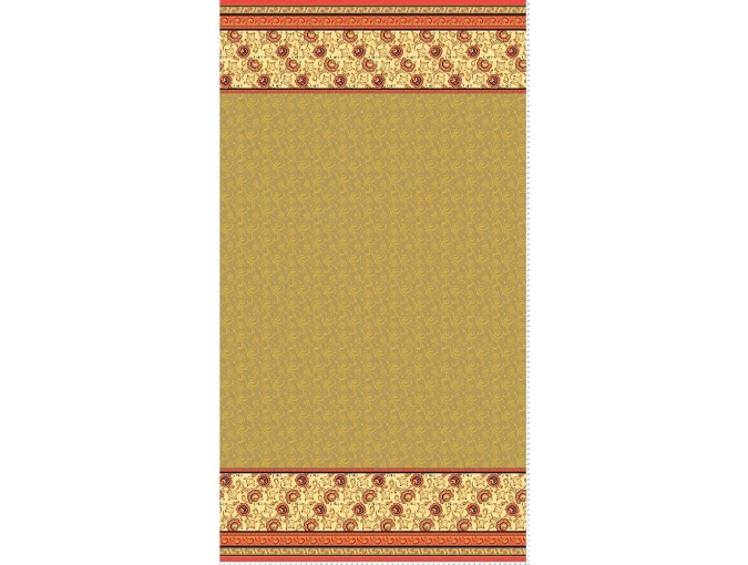 Fat Quarter Peppy, print Green/Beige RT-06 фото 1