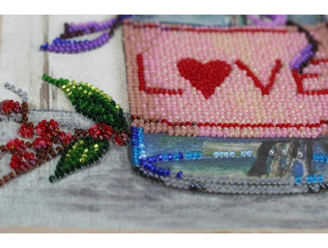 About Love Bead Embroidery Kit фото 6