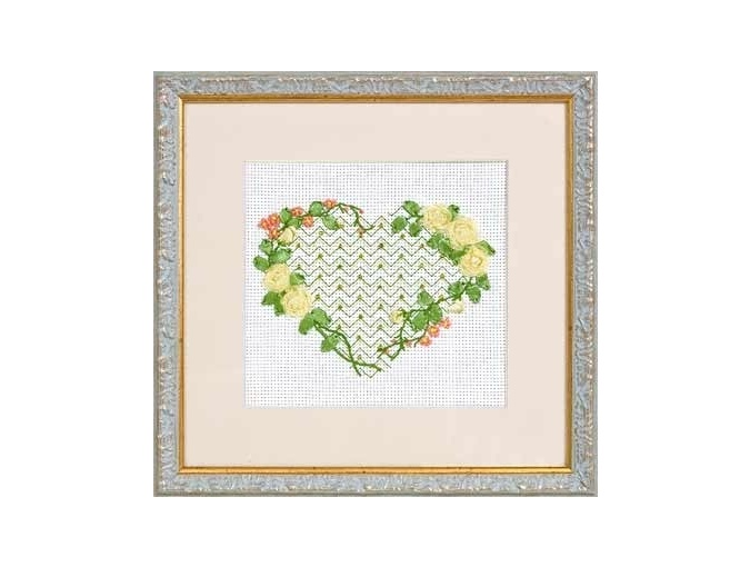 From the Bottom of the Heart Cross Stitch Kit фото 2