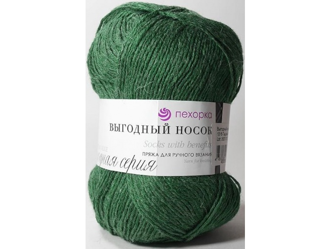 Pekhorka Socks with benefits, 40% Wool, 60% Acrylic 5 Skein Value Pack, 500g фото 29