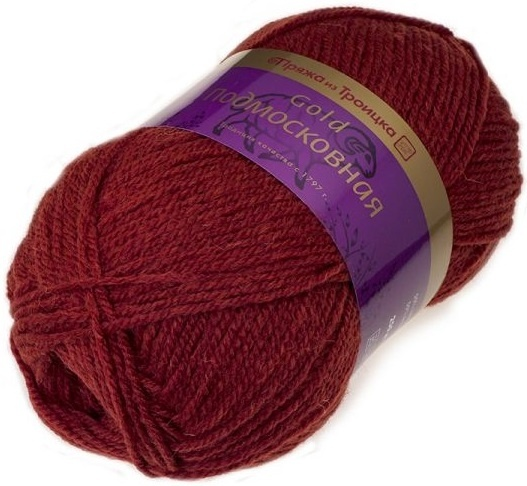 Troitsk Wool Countryside Gold, 50% wool, 50% acrylic 5 Skein Value Pack, 500g фото 20