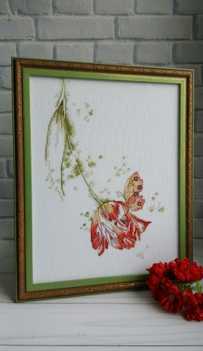 A Touch of Tenderness Cross Stitch Pattern фото 2