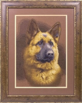 Muchtar the Dog Cross Stitch Kit фото 2