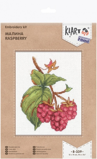 Raspberry Cross Stitch Kit фото 2
