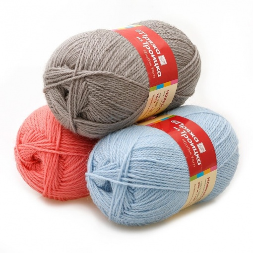 Troitsk Wool New Zealand, 100% wool 10 Skein Value Pack, 1000g фото 1