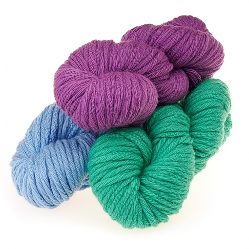 Troitsk Wool Athena, 20% merino wool, 80% acrylic 5 Skein Value Pack, 500g фото 1