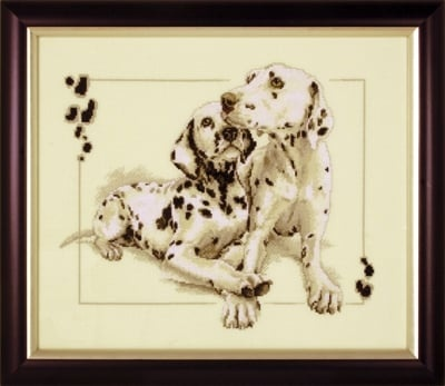 Dalmatians Cross Stitch Kit фото 2