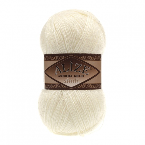 Alize Angora Gold Simli, 5% Lurex, 10% Mohair, 10% Wool, 75% Acrylic, 5 Skein Value Pack, 500g фото 14