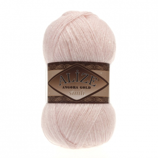 Alize Angora Gold Simli, 5% Lurex, 10% Mohair, 10% Wool, 75% Acrylic, 5 Skein Value Pack, 500g фото 30