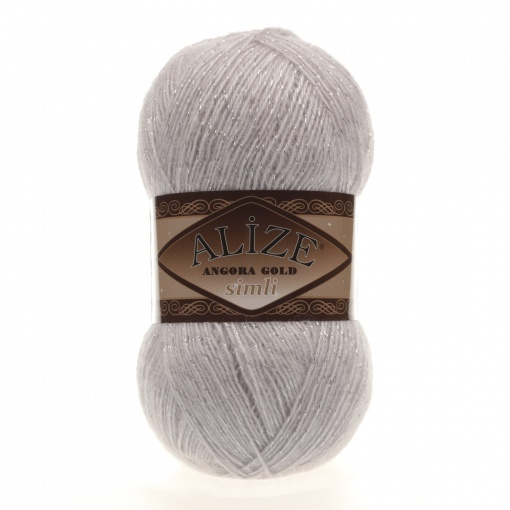 Alize Angora Gold Simli, 5% Lurex, 10% Mohair, 10% Wool, 75% Acrylic, 5 Skein Value Pack, 500g фото 25