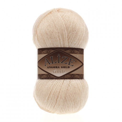 Alize Angora Gold Simli, 5% Lurex, 10% Mohair, 10% Wool, 75% Acrylic, 5 Skein Value Pack, 500g фото 48