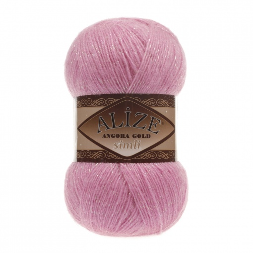 Alize Angora Gold Simli, 5% Lurex, 10% Mohair, 10% Wool, 75% Acrylic, 5 Skein Value Pack, 500g фото 8