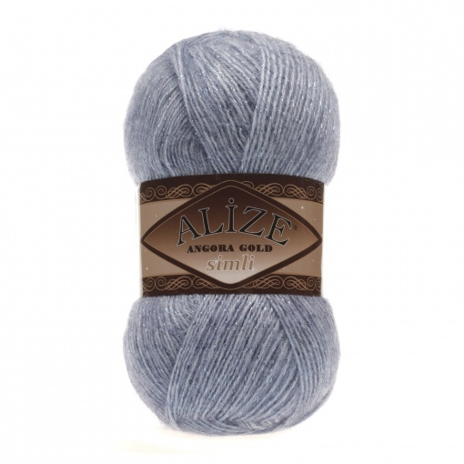 Alize Angora Gold Simli, 5% Lurex, 10% Mohair, 10% Wool, 75% Acrylic, 5 Skein Value Pack, 500g фото 27