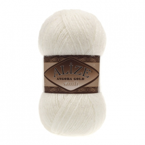 Alize Angora Gold Simli, 5% Lurex, 10% Mohair, 10% Wool, 75% Acrylic, 5 Skein Value Pack, 500g фото 38