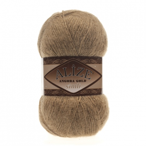 Alize Angora Gold Simli, 5% Lurex, 10% Mohair, 10% Wool, 75% Acrylic, 5 Skein Value Pack, 500g фото 49