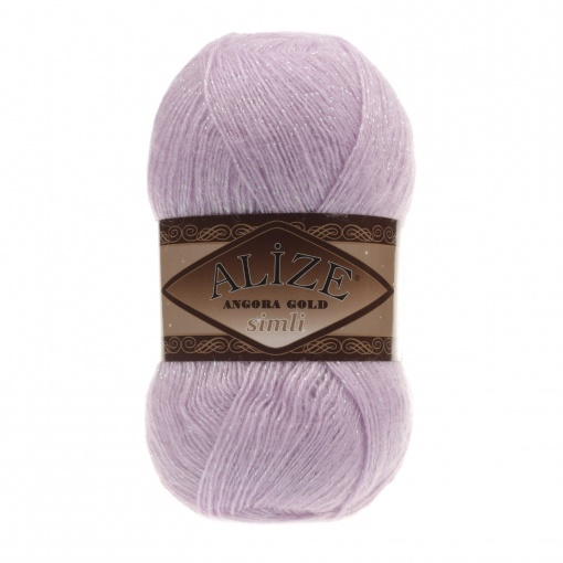 Alize Angora Gold Simli, 5% Lurex, 10% Mohair, 10% Wool, 75% Acrylic, 5 Skein Value Pack, 500g фото 6