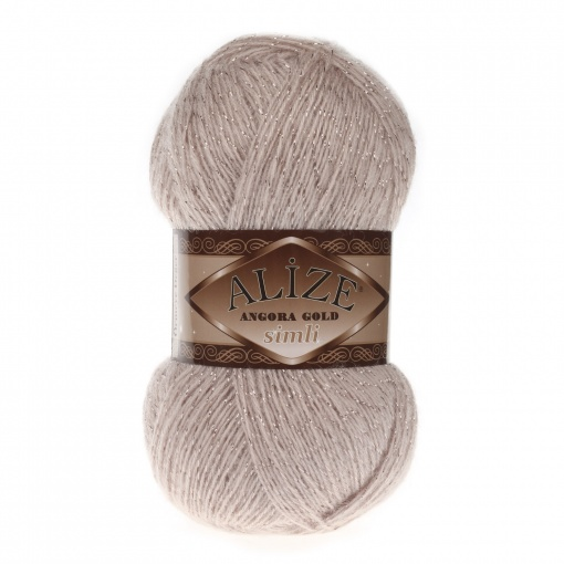 Alize Angora Gold Simli, 5% Lurex, 10% Mohair, 10% Wool, 75% Acrylic, 5 Skein Value Pack, 500g фото 39