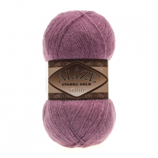 Alize Angora Gold Simli, 5% Lurex, 10% Mohair, 10% Wool, 75% Acrylic, 5 Skein Value Pack, 500g фото 7