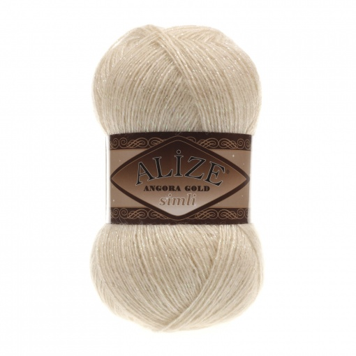Alize Angora Gold Simli, 5% Lurex, 10% Mohair, 10% Wool, 75% Acrylic, 5 Skein Value Pack, 500g фото 15