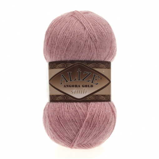 Alize Angora Gold Simli, 5% Lurex, 10% Mohair, 10% Wool, 75% Acrylic, 5 Skein Value Pack, 500g фото 20