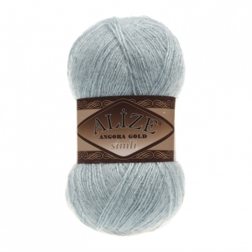 Alize Angora Gold Simli, 5% Lurex, 10% Mohair, 10% Wool, 75% Acrylic, 5 Skein Value Pack, 500g фото 19