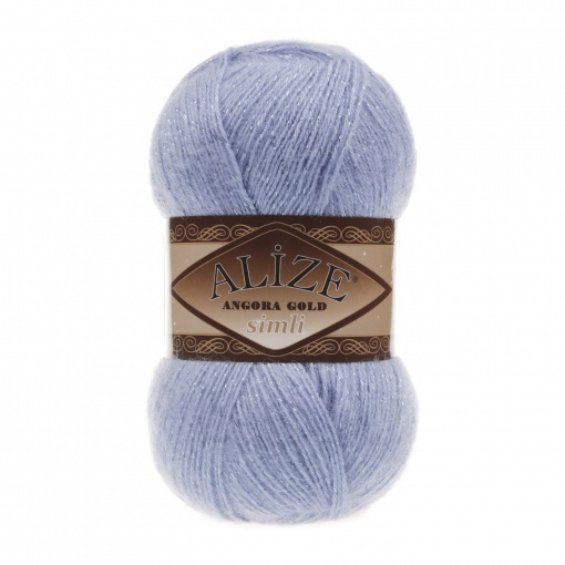 Alize Angora Gold Simli, 5% Lurex, 10% Mohair, 10% Wool, 75% Acrylic, 5 Skein Value Pack, 500g фото 9