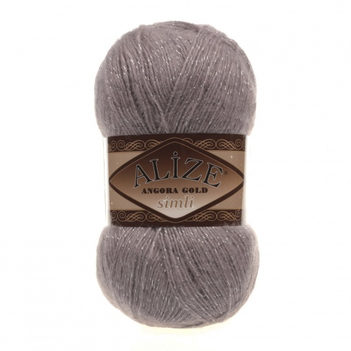 Alize Angora Gold Simli, 5% Lurex, 10% Mohair, 10% Wool, 75% Acrylic, 5 Skein Value Pack, 500g фото 34