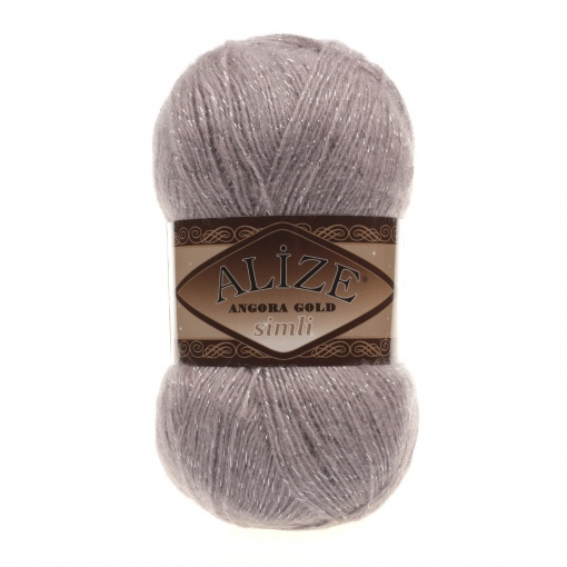 Alize Angora Gold Simli, 5% Lurex, 10% Mohair, 10% Wool, 75% Acrylic, 5 Skein Value Pack, 500g фото 24